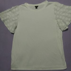 Ann Taylor white T shirt